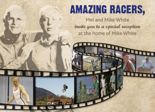 Mel and Mike White are the Amazing Racers