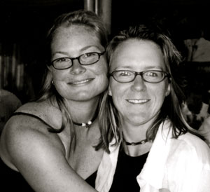 Wendy Boyer and her partner